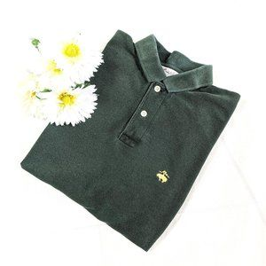 Vintage Brooks Brothers Forest Green Polo SZ S